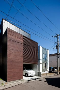 Built by Code Architectural Design in Sapporo, Japan Located in Sapporo City, Hokkaido, theLouver House is a residential commission for a family of four. In recent years...