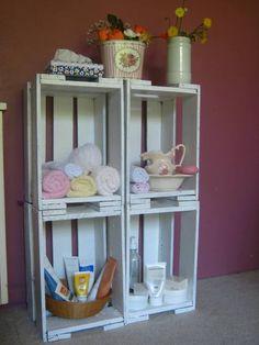 Pallets e Caixotes para decoração! | Artesanato & Humor de Mulher