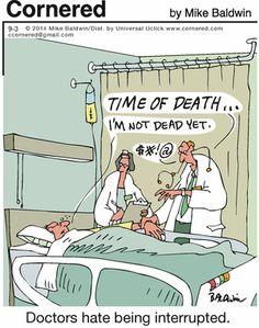 Cornered (Sept/03/2014). Mike Baldwin. #healthcare #medical #humor