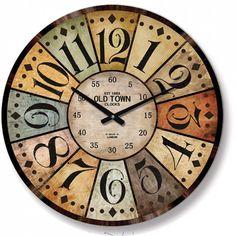 Antik Eskitme Ahşap Yuvarlak Duvar Saati, Antik Eskitme Ahşap Yuvarlak Duvar Saati Ürün Bilgisi ;Ürün maddesi : MDF Gövde Ebat : 60 cm Büyük boy Mekanizması : Akar saniye, sessiz ç