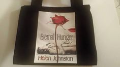 Tote bag for the Eternal Hunger giveaway!