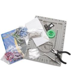 This would make a fantastic gift for someone just starting out in the craft. Jewelry Making Starter Kit : Glass : beads : jewelry & beading : crafts :  Shop | Joann.com