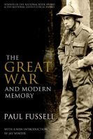 'The Great War and Modern Memory' is the winner of the National Book Award and National Book Critics Circle Award. This is a landmark study of #WWI and essential for anyone wanting to learn more about how this event has impacted literary memory, which can still be seen in literature today.