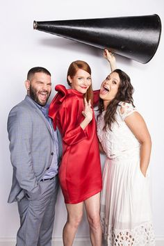 Guillermo Diaz, Darby Stanchfield and Katie Lowes from #Scandal.