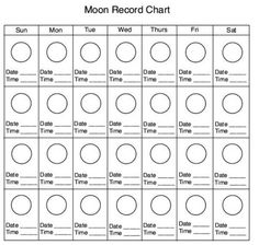Kids Moon Phases Calendar Printable | Calendar Template 2016