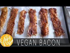 Vegan Recipe: Make Vegan Bacon Using Rice Paper | The Edgy veg - YouTube