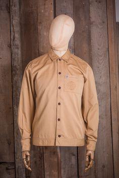 Universal Works x Satta Uniform Shirt - Camel - Shirts - The Priory - 1