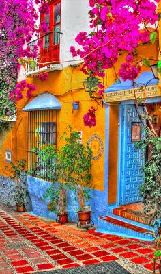 Restorante El Pozo Viejo in Marbella, Spain • by Rui Pajares on Flickr