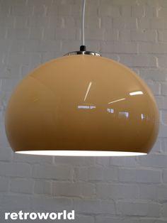 Off Mid Century Retro Vintage Ceiling Light Lamp Panton Guzzini Era