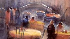 Original Watercolour by B Patel at Crossroads  Gallery.