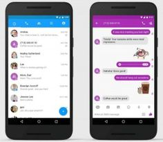 The Rich Communication Services (RCS) is a major update to SMS messaging since iMessage and WhatsApp. Currently, Android users in the United States are able to get benefits. Facebook Messenger, Sms Text, Text Messages, Mobiles, Google Play, Nice Meeting You, Apps, Messages, Android