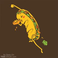 Party Sub T-Shirt Designed by Busted Tees  #TCRZ #funny #food