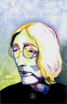 John Lennon 1968. #hartelart #etsyclimbersteam