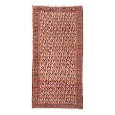 Wannenes Art Auctions  DOROKSH CARPET, KHORASSAN AREA, NORTH EAST PERSIA, CIRCA 1900  cm 297X147