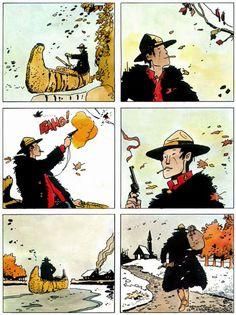 Cool Comic Book Pages: Hugo Pratt - Jesuit Joe