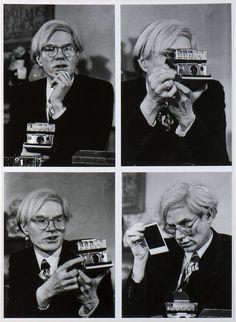 Andy Warhol #polaroid