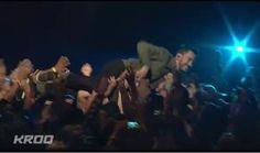 Mike Shinoda - crowd surfin