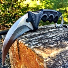 Tactical Combat Karambit Neck Knife Survival Hunting Bowie Fixed Blade w Sheath | eBay