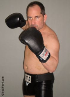 boxing stance fighting pose stare down pictures gallery