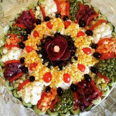 Gourmet Recipes, Cooking Recipes, Healthy Recipes, Salad Presentation, Fun Foods To Make, Moroccan Salad, Moroccan Kitchen, Food Challenge, Food Goals