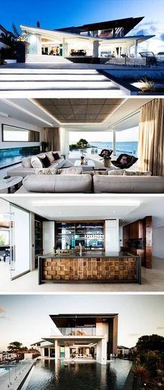 lagoon house von robin payne in bribie island australien