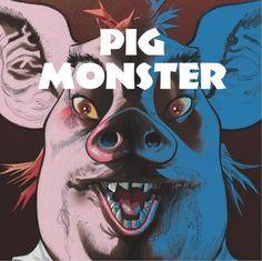 Gorillaz Fans, Meet 'Pig Monster,' A New Character Design From Damon Albarn And Jamie Hewlett's 'Monkey: Journey To The West' Monkey Art, Monkey King, Pig Character, Character Design, Jamie Hewlett Art, Gorillaz Art, Journey To The West, Comic Poster, Damon Albarn