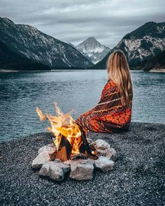 Camping Sauvage, I Walk Alone, Quiet Moments, Outdoor Camping, Camping Ideas, Places To Travel, Life Is Good, Magic, In This Moment