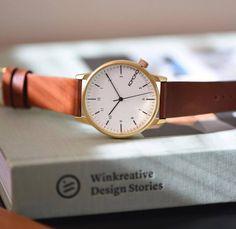 Komono Winston Regal Chestnut #komono #timepiece #watches #menswatches #winstonregal