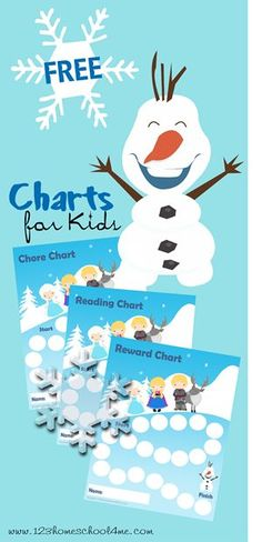 Free Frozen-Themed Chore Charts and Reading Charts - Money Saving Mom®
