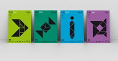 tangram visual identity - Google Search