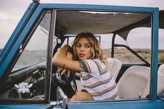 inspiration | vintage | car | driving | girl | photography | desert | roadtrip | offroad |