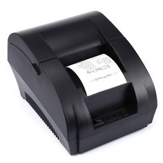 New Portable Thermal Receipt Printer POS Printer USB Paper Roll Port 58mm Thermal Low Noise For Restaurant and Supermarket 5890K