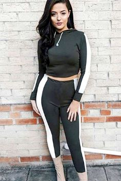 Women's Clothing Laisiyi 2019 Women Sport Suit Top And Pants Fitness Leisure Set Long Sleeves Sports Clothing Workout Leggings Sexy Sportswear Convenient To Cook