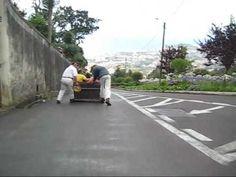 Monte Toboggan Ride, Funchai, Madeira, Portugal