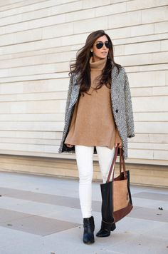 An oversized turtleneck from The Darling Detail. via @stylelist | http://aol.it/1vk9x5y