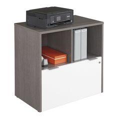 "Boardwalk One Drawer Lateral File - 30""W   National Business Furniture #modernoffice #modern #moderndesign"