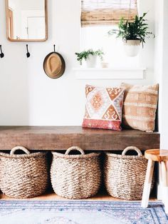 A Cookie-Cutter, Boring Basic House Is Successfully De-Beiged, Home Decor, A Cookie-Cutter, Boring Basic House Is Successfully De-Beiged — House Call. Decorating Ideas For The Home Bedroom, Diy Home Decor, Room Decor, Hall Furniture, Furniture Design, French Furniture, Outdoor Furniture, Furniture Ideas, Furniture Storage