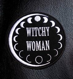 Hey witchy woman this quality moon phase patch was made for you. This patch is to be sewn on. Posted in a jiffy bag as a single item.