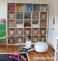Organizing my child's playroom? YES!