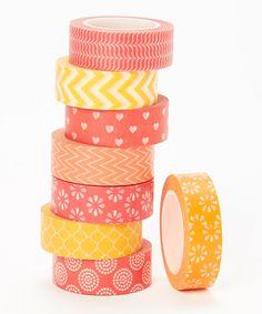Fun in the Sun Washi Tape Set DIY crafts #zulilyfinds
