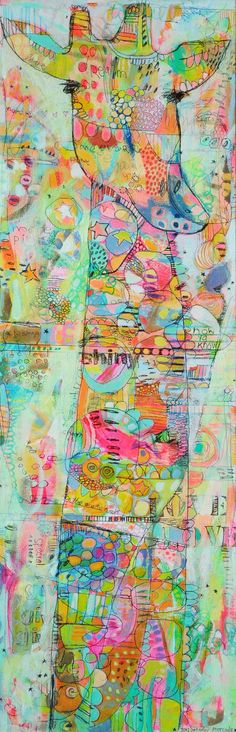 Impression toile douce G-Raff par Jennifer par jennifermercede