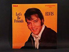Elvis - Let's Be Friends (LP)