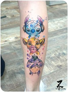 magische Disney Tattoo Ideen & Inspiration - Brighter Craft Source by Simba Tattoo, Et Tattoo, Tattoo Style, Piercing Tattoo, Eeyore Tattoo, Neue Tattoos, Body Art Tattoos, Small Tattoos, Tatoos