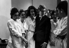 Yves Saint Laurent in a 1960 picture