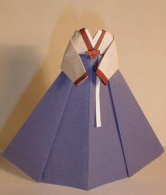 Paper Dresses Scrapbooking | ... Traditional Dress 254x300 Ornament Pink Korean Traditional Dress
