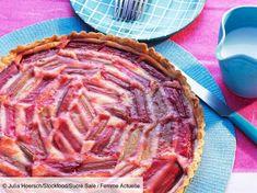 Tarte acidulée à la rhubarbe : découvrez les recettes de cuisine de Femme Actuelle Le MAG