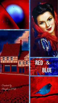 RED AND BLUE ~ REYHAN SERAN DURSUN ~*~
