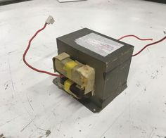 Electromagnet From Microwave Transformers Microwave