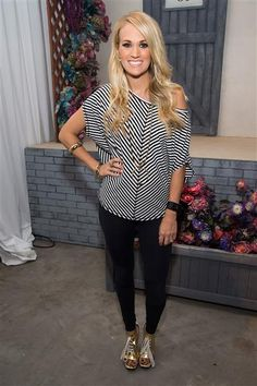 Carrie Underwood attends the fashion show for her CALIA fitness and lifestyle line during York Fashion Week Spring/Summer 2016 in New York City on Sept. 10, 2015.