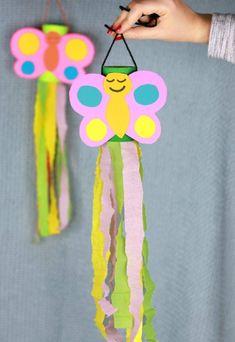 Kids Crafts, Spring Crafts For Kids, Summer Crafts, Toddler Crafts, Easter Crafts, Crafts To Make, Summer Art, Spring Crafts For Preschoolers, Wood Crafts